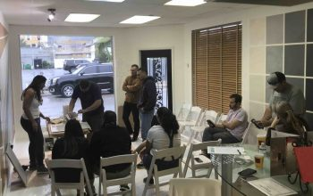Training in showroom